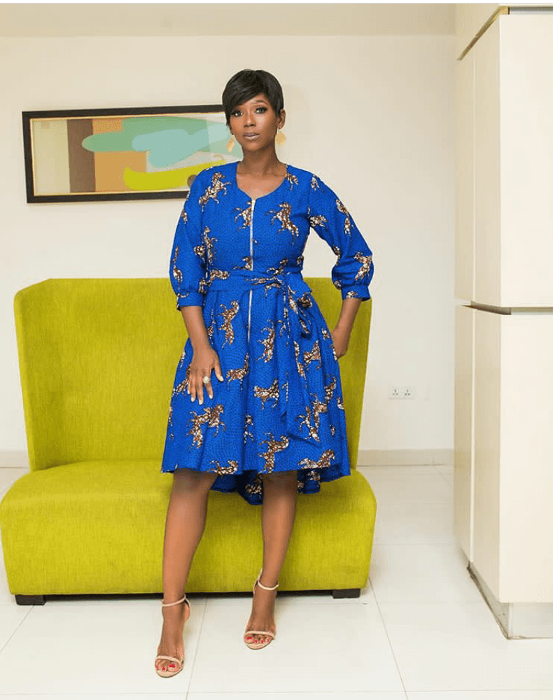 Ankara dress styles:Latest styles only 3