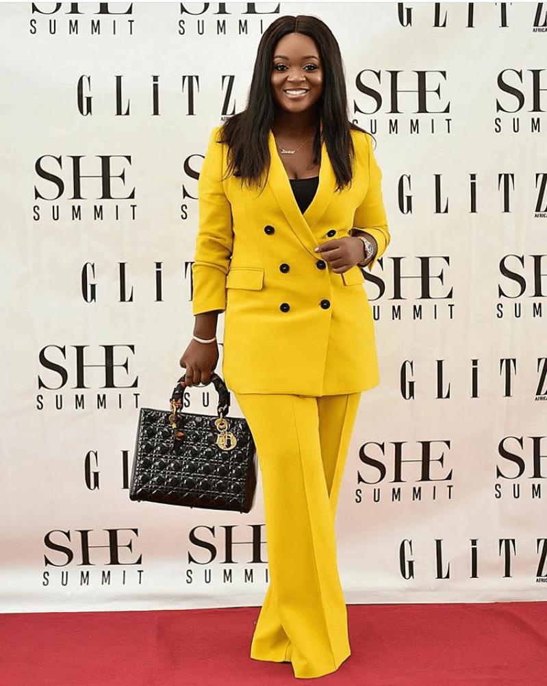 Stunning yellow dress styles