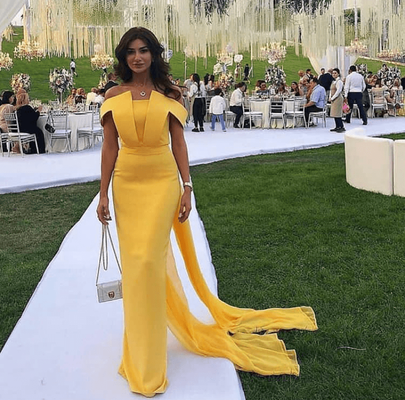 Stunning yellow dress styles; Yellow is the new black! 8