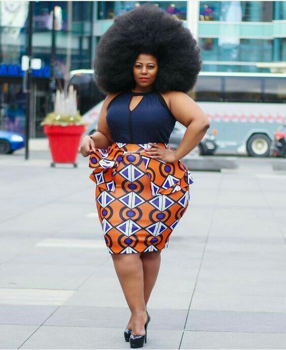 Plus size Ankara dresses