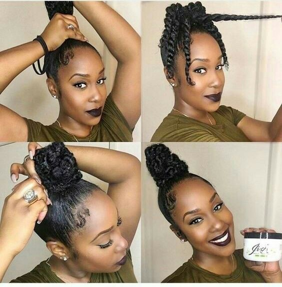 Easy diy natural hair styles 10