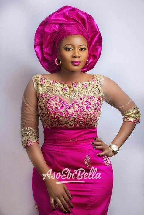 30+ Latest  Nigerian lace styles 11
