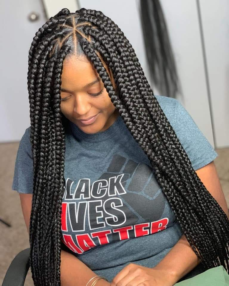 MOST BEAUTIFUL BLACK WOMEN HAIR BRAID STYLES 6