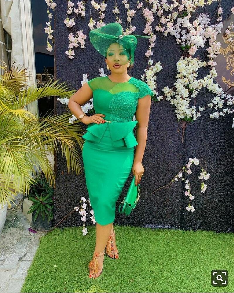 30+ Latest  Nigerian lace styles 12