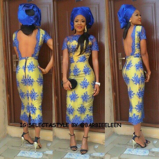 30+ Latest  Nigerian lace styles 4
