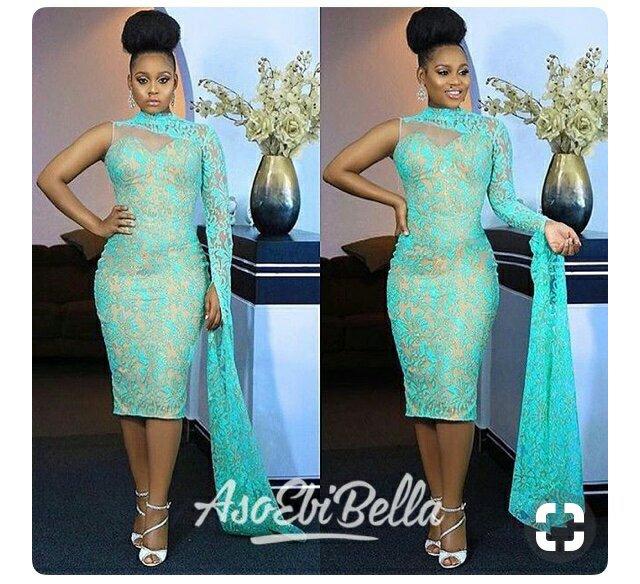 30+ Latest  Nigerian lace styles 8