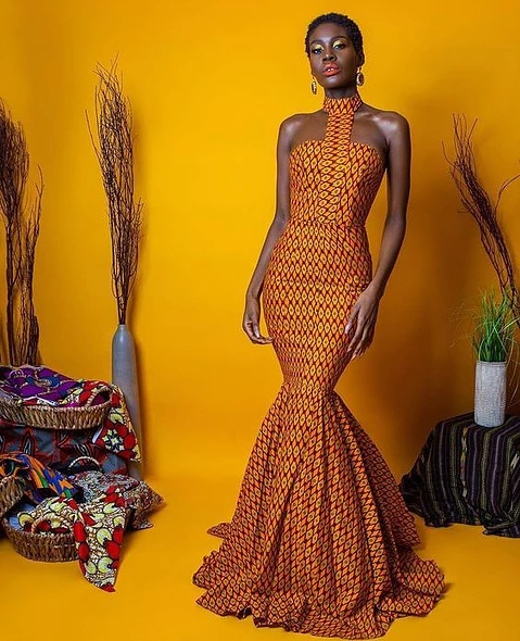 15+ ELEGANT ANKARA MERMAID GOWNS 4