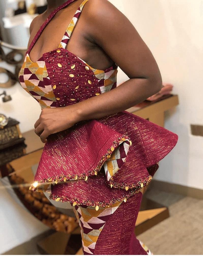 10 Stylish kente styles 3