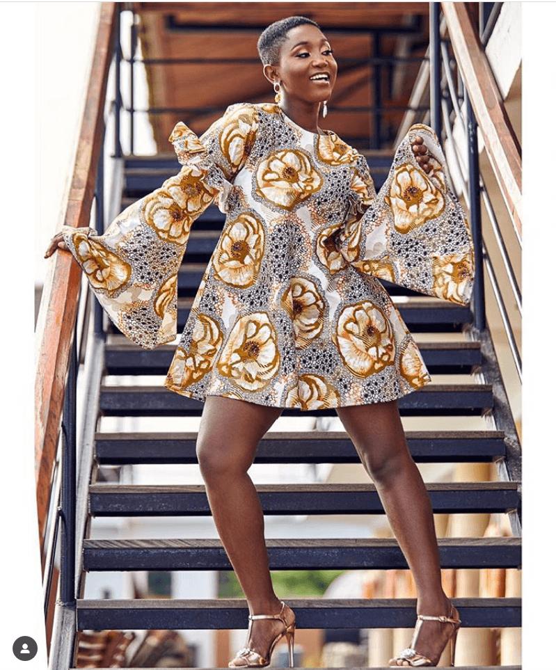 THE BEST ANKARA DRESS STYLES IN 2019 38
