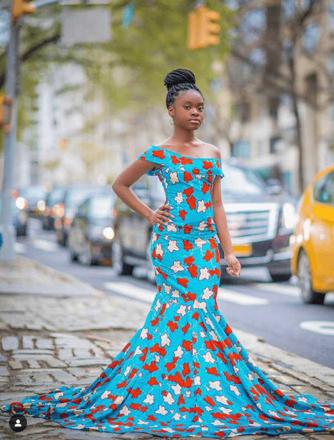 15+ ELEGANT ANKARA MERMAID GOWNS 14