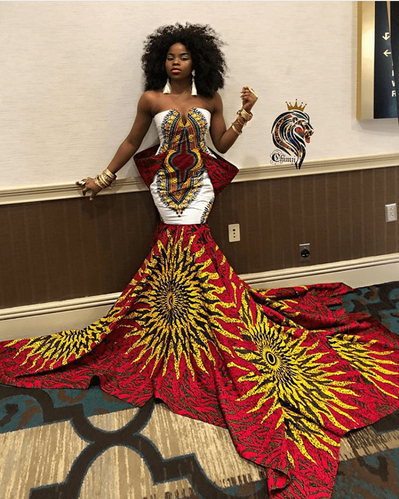 15+ ELEGANT ANKARA MERMAID GOWNS 11