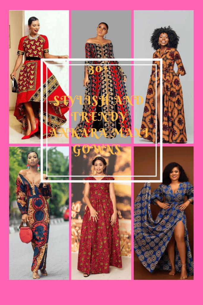 Ankara Maxi Gowns