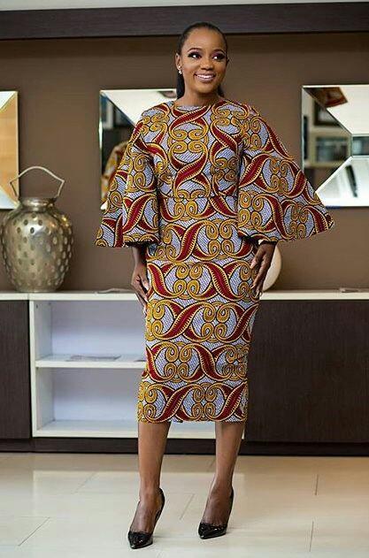 THE BEST ANKARA DRESS STYLES IN 2019 10