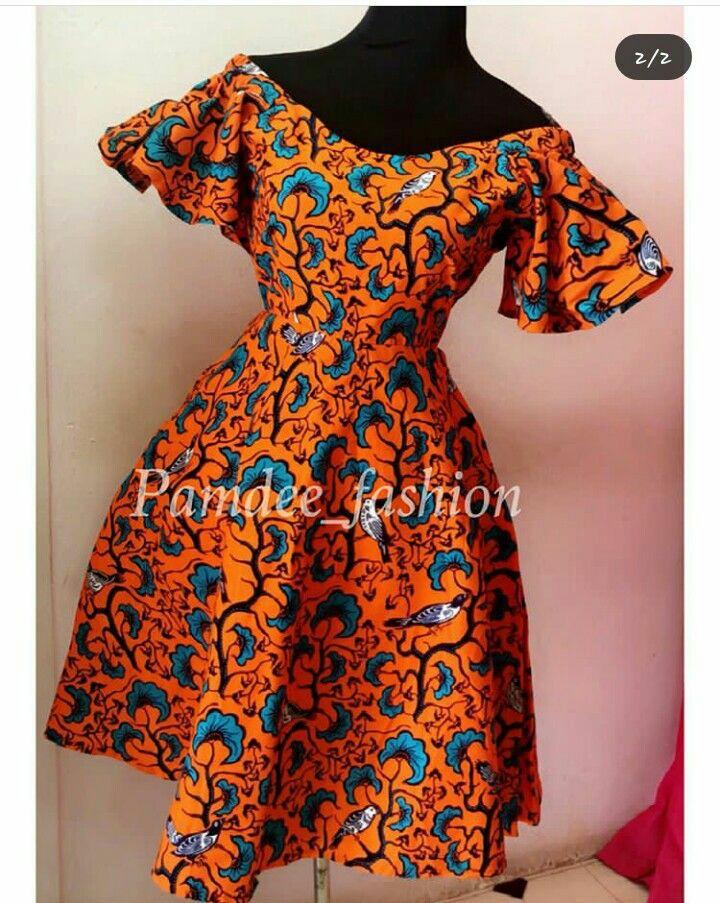 THE BEST ANKARA DRESS STYLES IN 2019 5