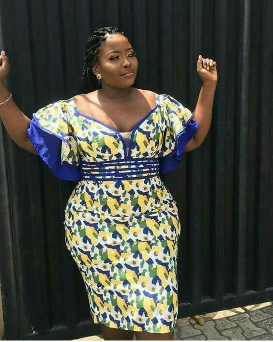 Plus size Ankara dresses 12