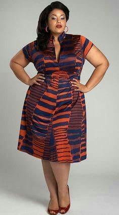 Plus size Ankara dresses 13