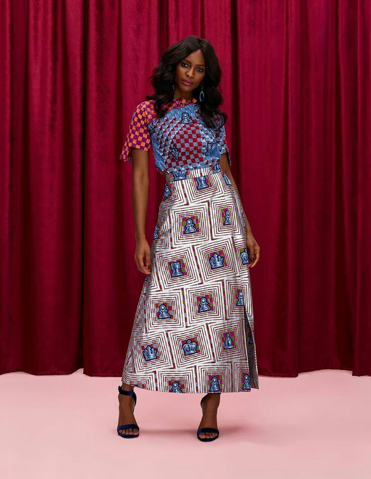 THE BEST ANKARA DRESS STYLES IN 2019 24