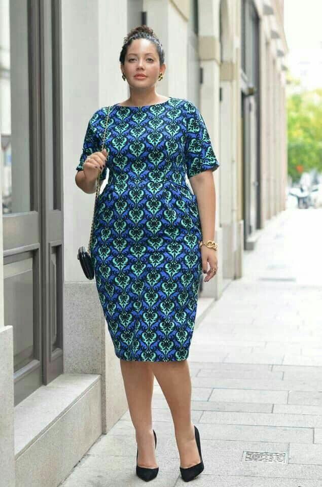 Plus size Ankara dresses 6