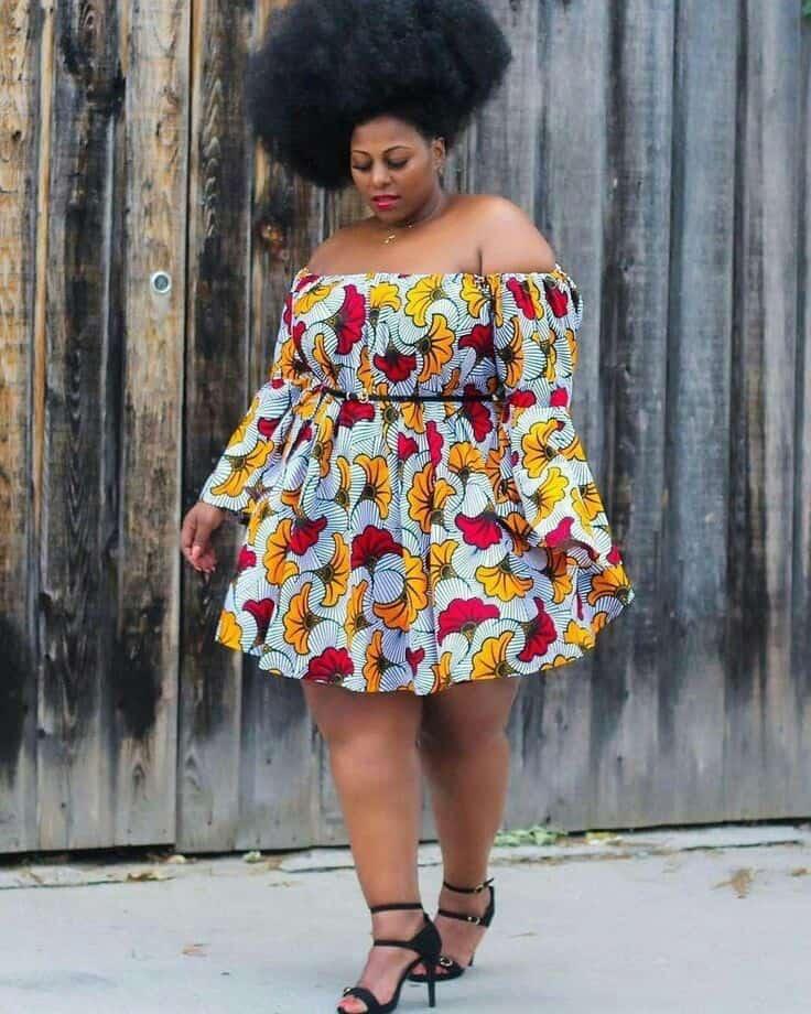 Plus size Ankara dresses 19