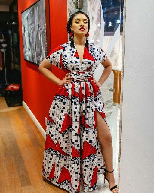 THE BEST ANKARA DRESS STYLES IN 2019 25
