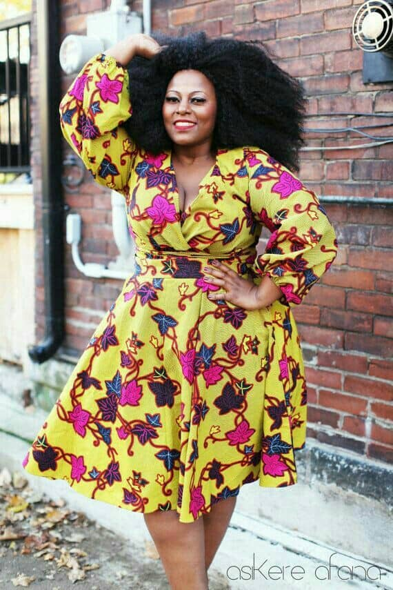 Plus size Ankara dresses 17