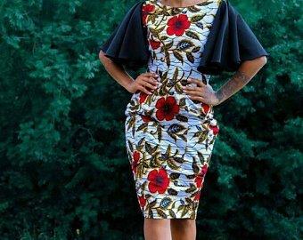 THE BEST ANKARA DRESS STYLES IN 2019 49