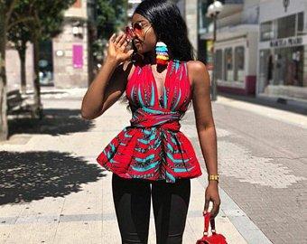 THE BEST ANKARA DRESS STYLES IN 2019 48