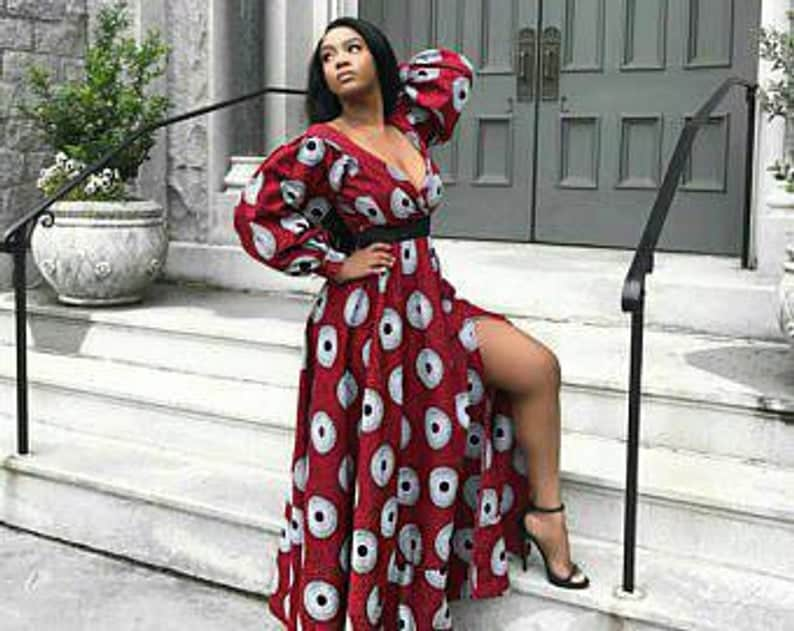New stylish ankara maxi dresses