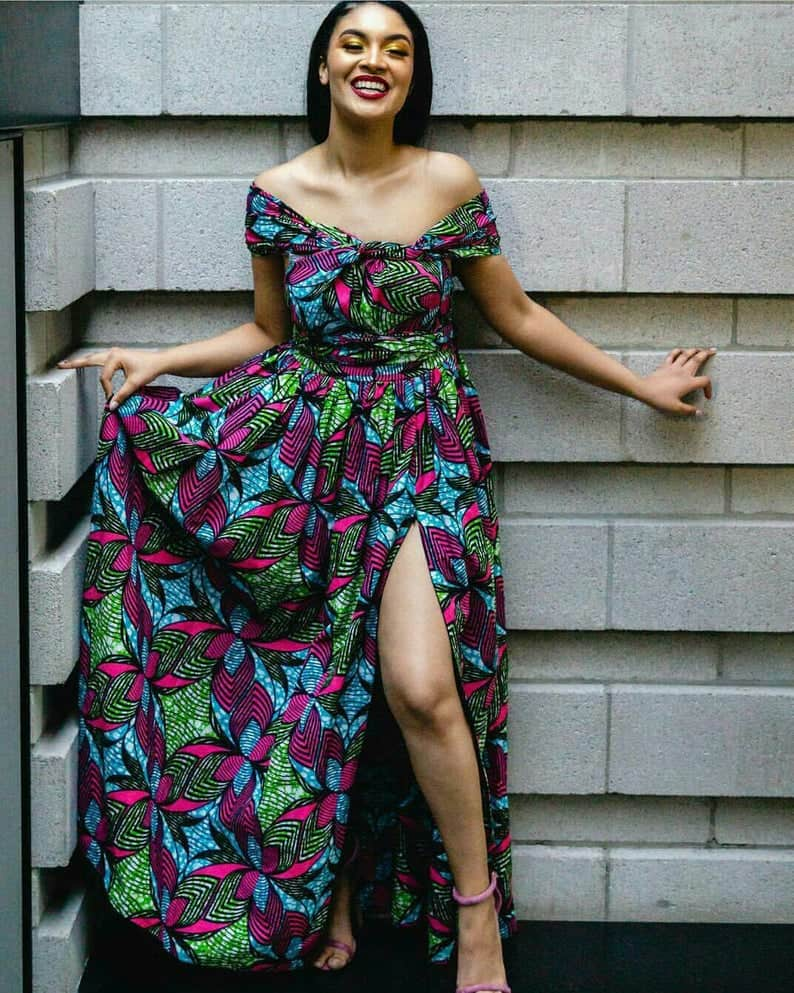 New stylish ankara maxi dress styles