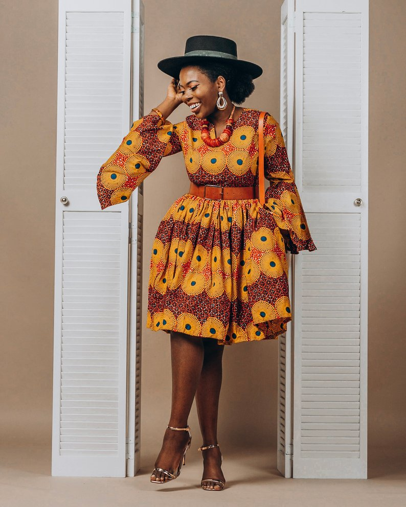 New stylish and trendy ankara dresses