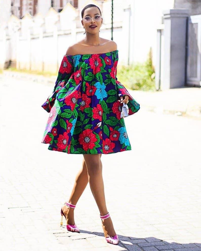 Ankara summer dress