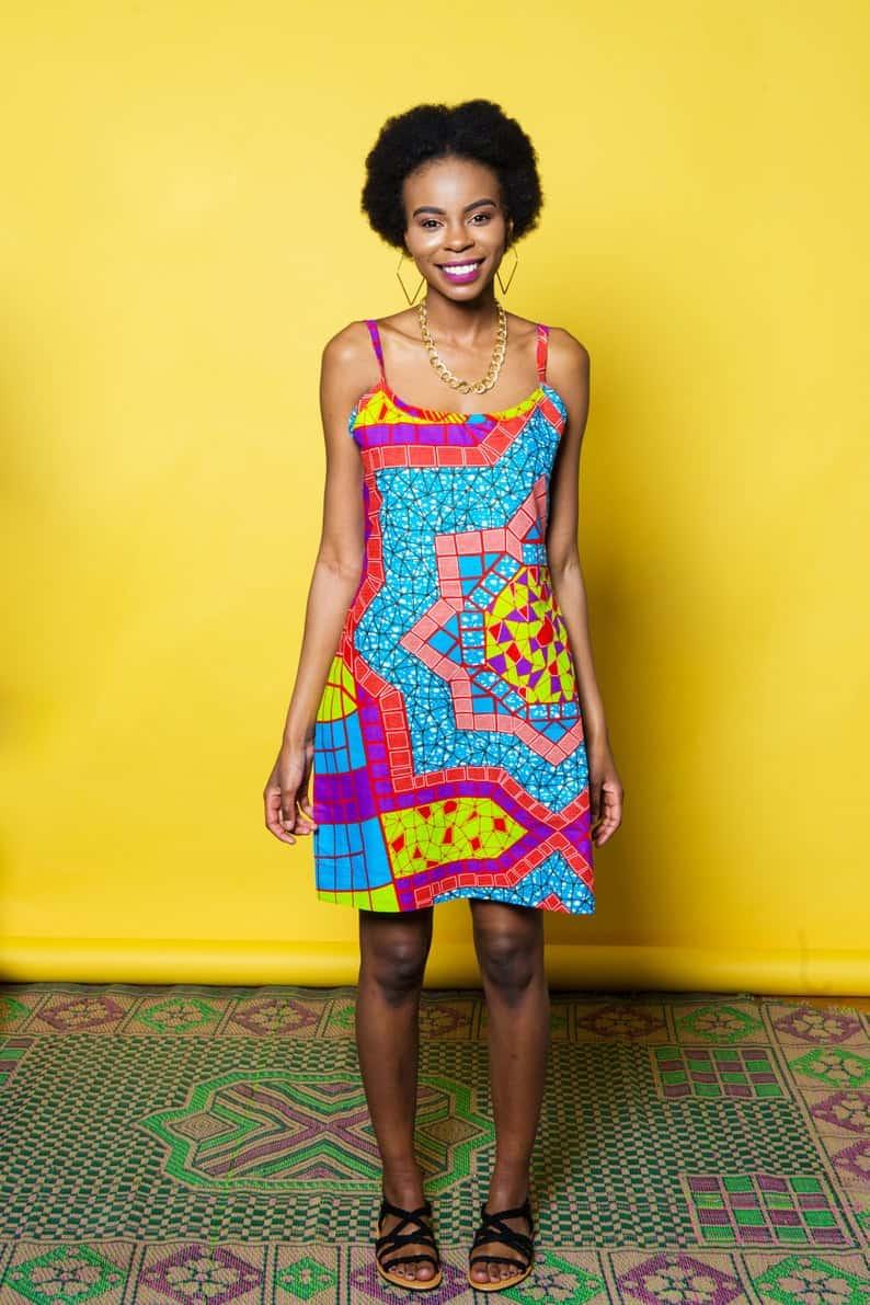 Summer ankara dress