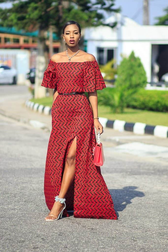 Latest ankara maxi dress
