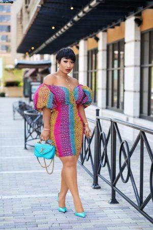 Ankara summer dress style