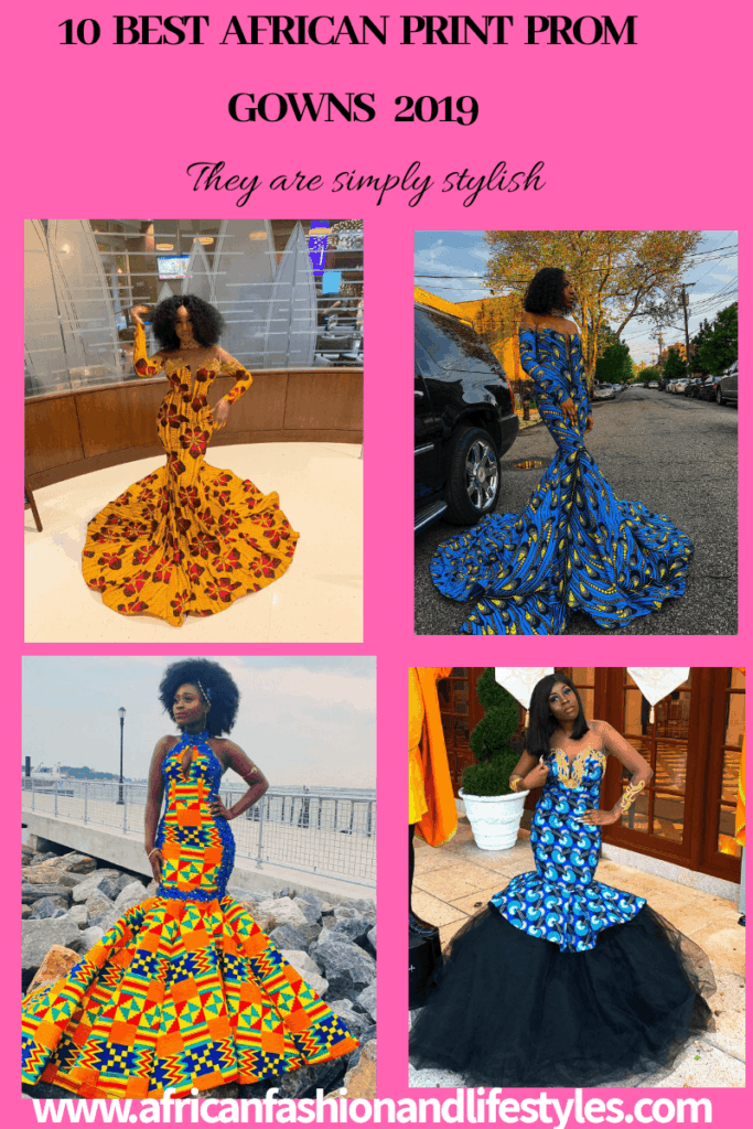 10 BEST AFRICAN PRINT PROM GOWNS