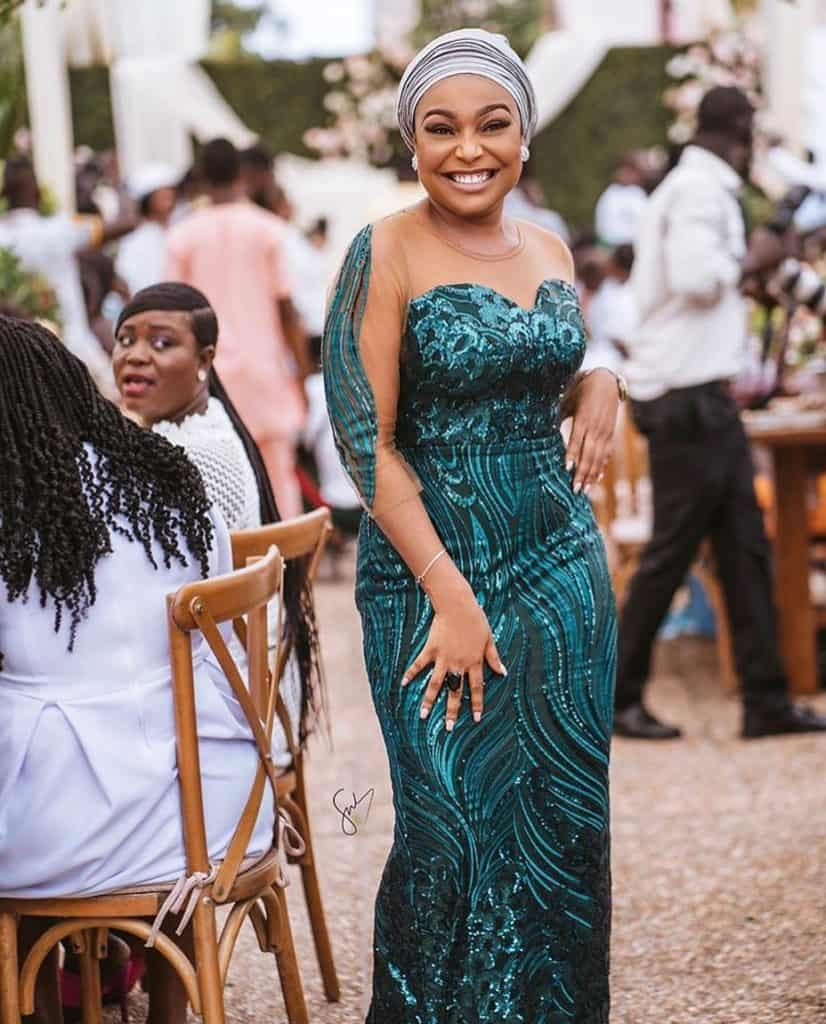 THE LATEST NIGERIAN LACE STYLES TRENDING 4