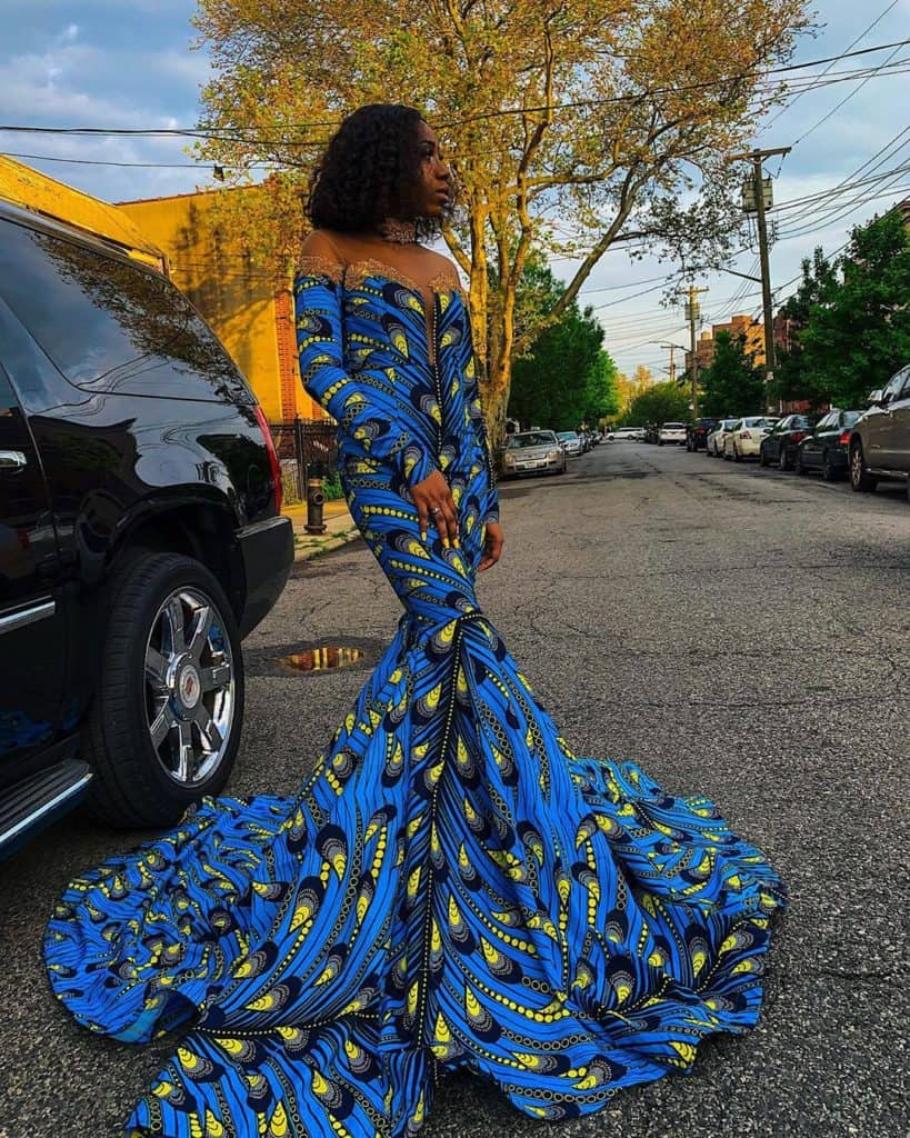 10 BEST AFRICAN PRINT PROM GOWNS 2