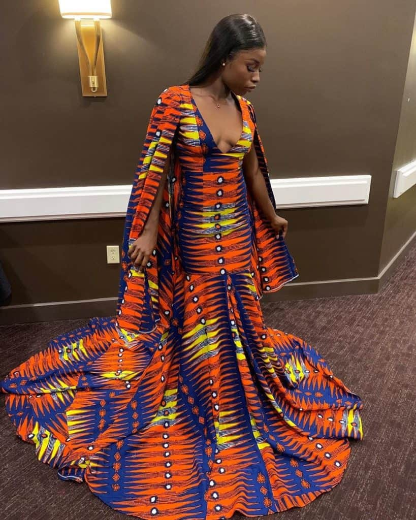 10 BEST AFRICAN PRINT PROM GOWNS 5