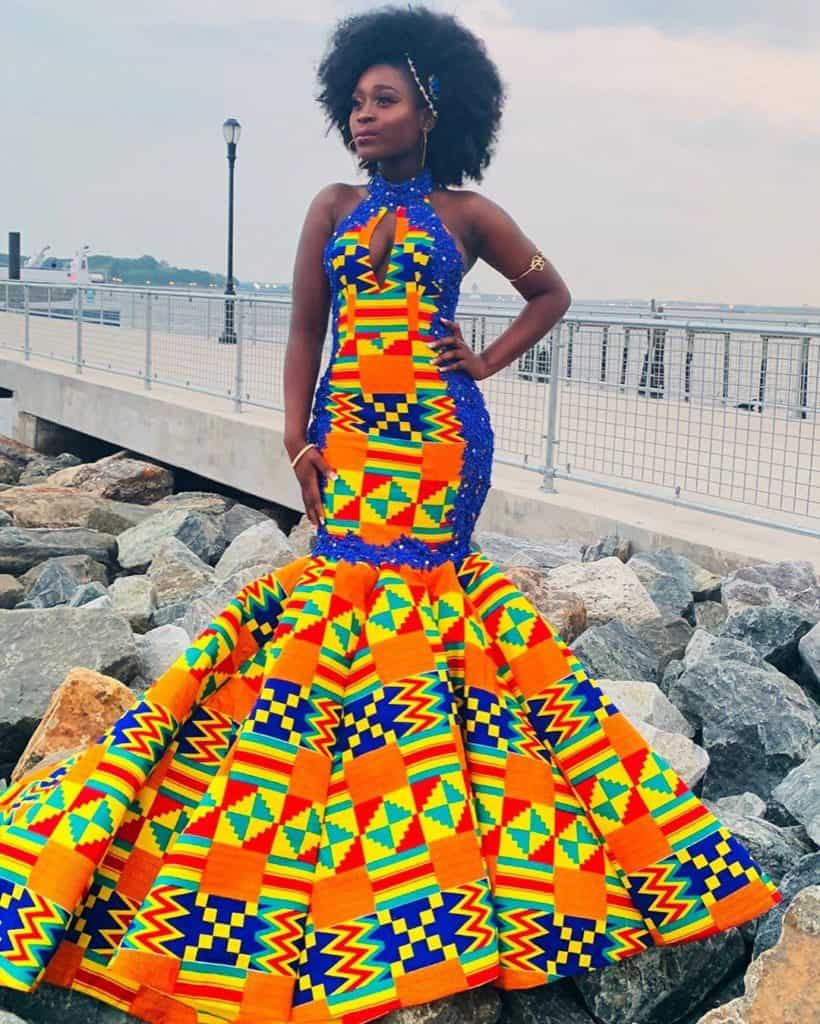 10 BEST AFRICAN PRINT PROM GOWNS 9