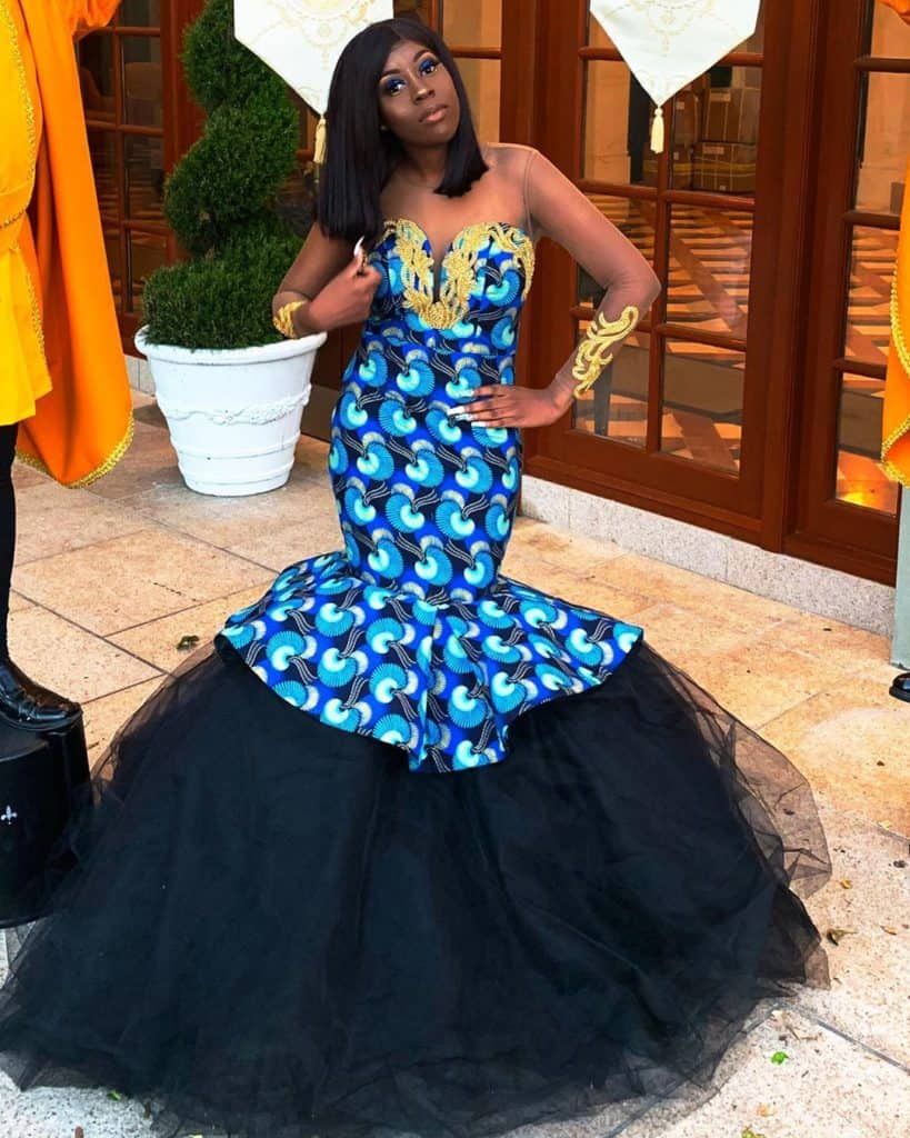 10 BEST AFRICAN PRINT PROM GOWNS 8