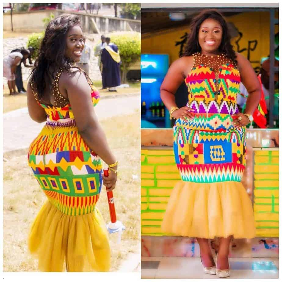 15+ LATEST AND RIVETING KENTE STYLES 14