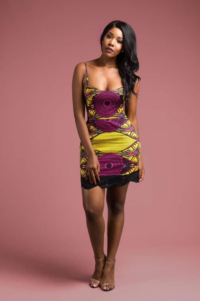 25+ SIMPLE ANKARA MINI DRESSES 21