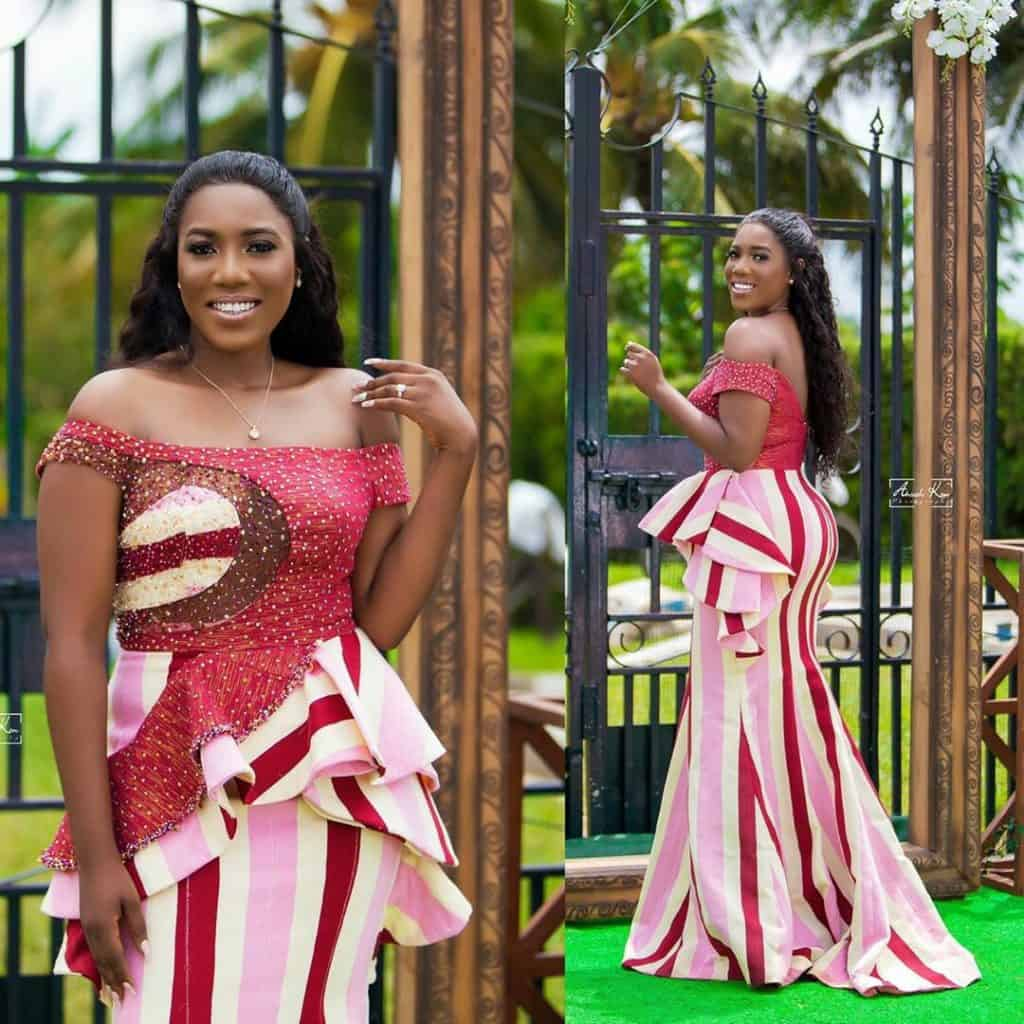 STYLISH AND GLAMOUROUS GHANA KENTE STYLES IN 2019 24