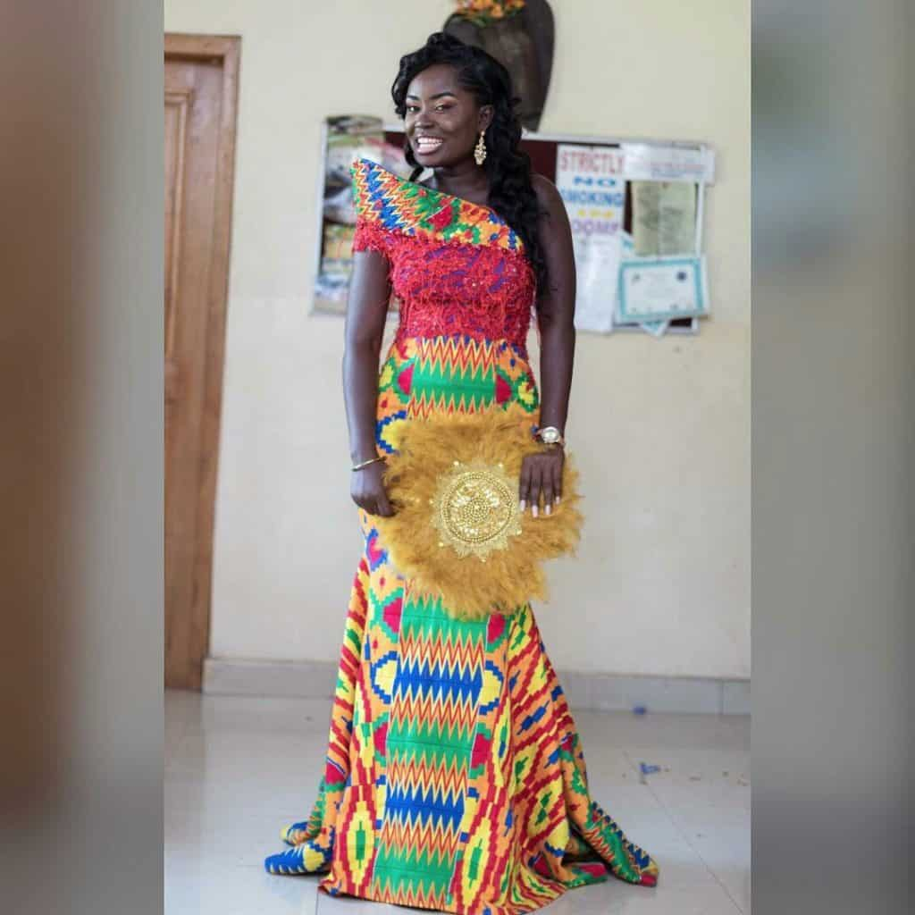STYLISH AND GLAMOUROUS GHANA KENTE STYLES IN 2019 26