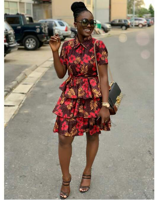 African print dress style