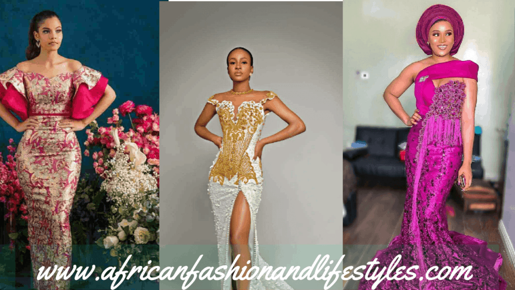 LATEST AND TRENDING NIGERIAN LACE STYLES 2019 3