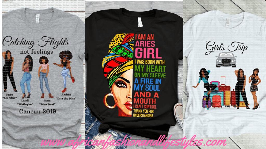 15 BEAUTIFUL BLACK WOMEN QUOTES T-SHIRTS