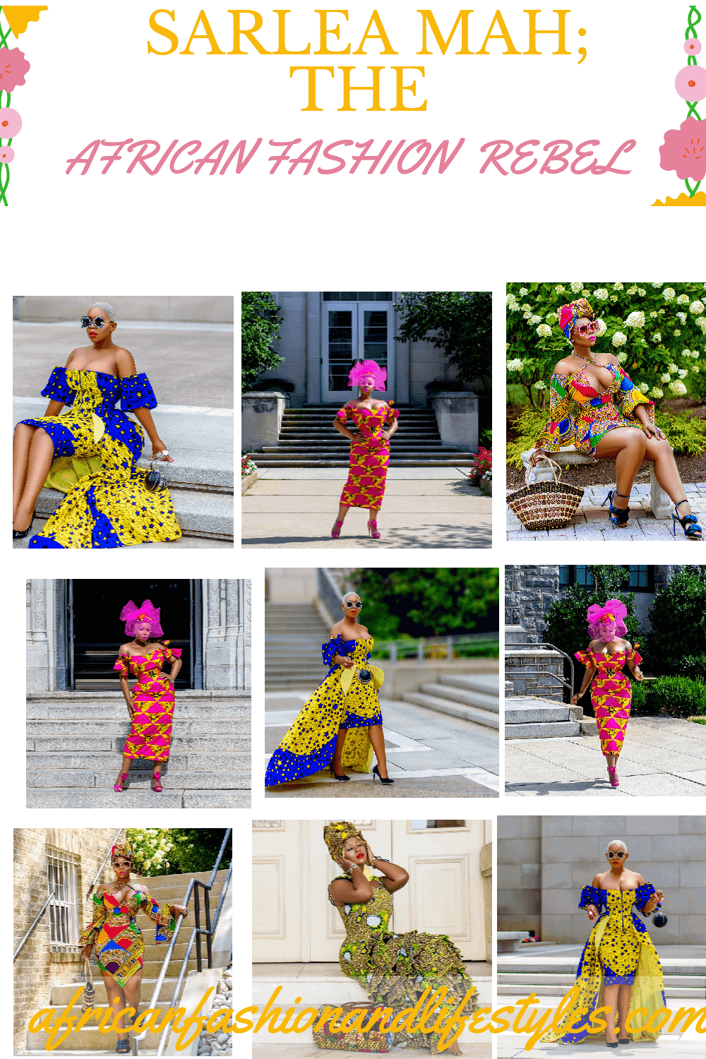 African print styles for pinterest