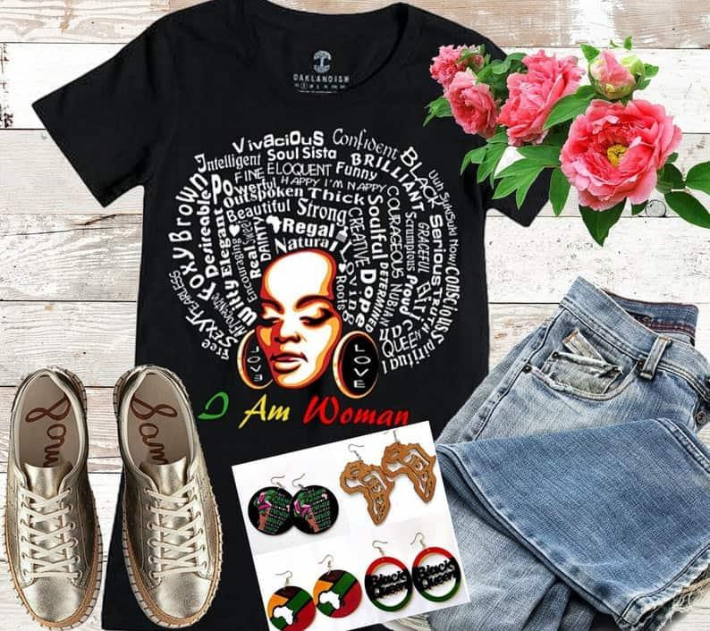15 BEAUTIFUL BLACK WOMEN QUOTES T-SHIRTS 12