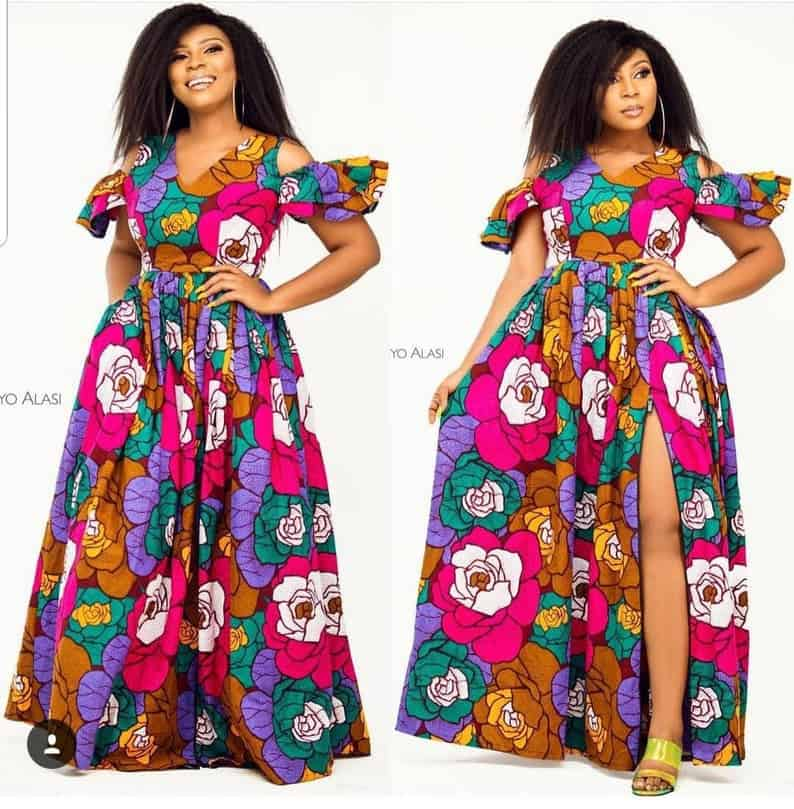 African print maxi dress styles